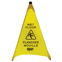Bilingual Pop-Up Safety Cone JI455 | RMP Maintenance